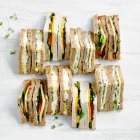 Sandwich platter - vegetarian - each