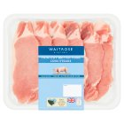 essential Waitrose British thin cut pork loin steaks - 450g
