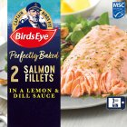 Birds Eye 2 salmon fillets with lemon & herb frozen - 280g