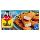 Birds Eye 30 omega 3 fish fingers frozen - 840g