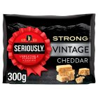 Seriously Strong Vintage Cheddar - 300g Brand Price Match - Checked Tesco.com 23/04/2015