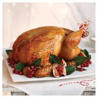 Organic dry aged free range feathered turkey - Large -