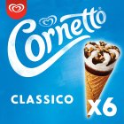 Cornetto classico 4 pack ice cream cone - 4x90ml