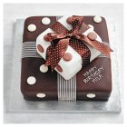 Fiona Cairns Two-Tier Chocolate Parcel Cake - each