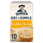 Quaker Oat So Simple golden syrup porridge cereal sachets - 360g Brand Price Match - Checked Tesco.com 16/04/2015