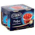 Cirio canned chopped tomatoes, 4 pack - 4x400g