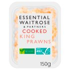 essential Waitrose cooked king prawns - 150g