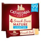 Cathedral City Snack Bars Mature Lighter - 4x30g Introductory Offer