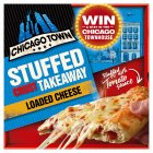 Chicago Town takeaway four cheese sauce stuffed crust pizza - 630g