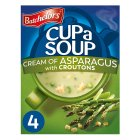 Batchelors 4 cup a soup cream of asaparagus - 117g