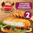Birds Eye 2 chicken quarter pounders frozen - 227g