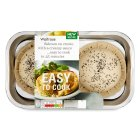 Waitrose Easy To Cook 2 salmon en croutes - 350g