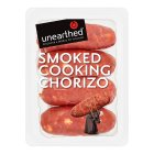 Unearthed 4 smoked cooking chorizo sausages - 200g